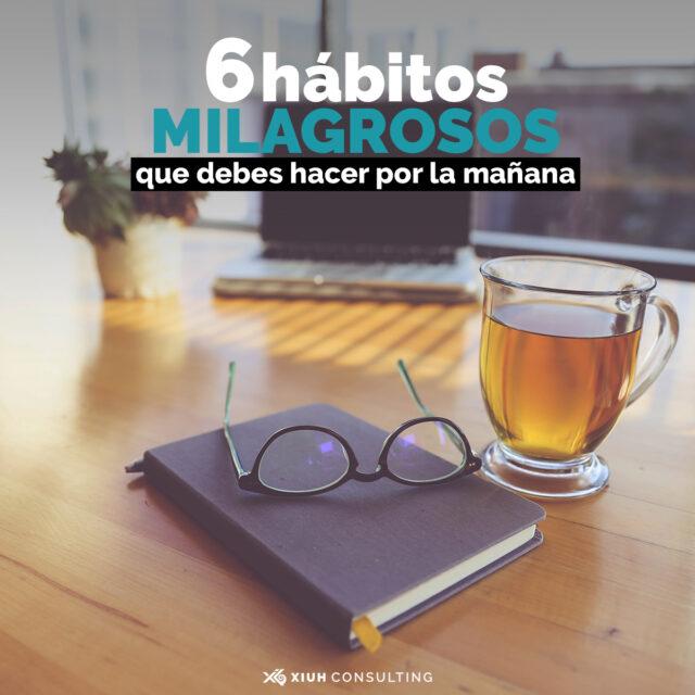 hábitos por la mañana