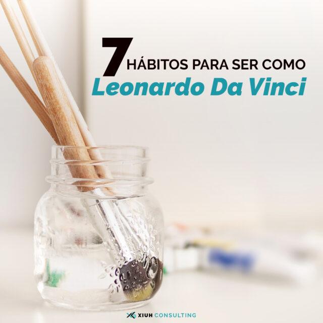 hábitos da Vinci