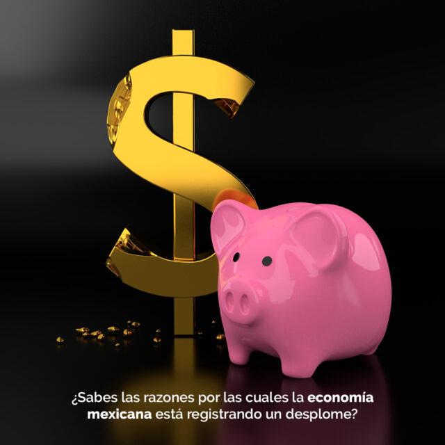 desplome economía mexicana